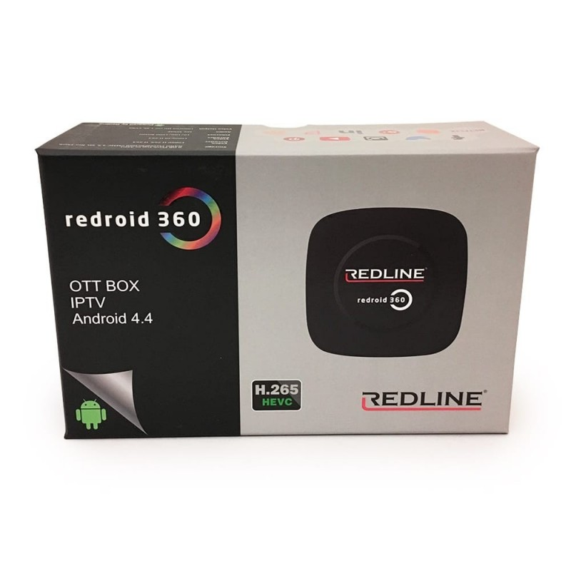 Redline Red 360 Plus HD IPTV Receiver