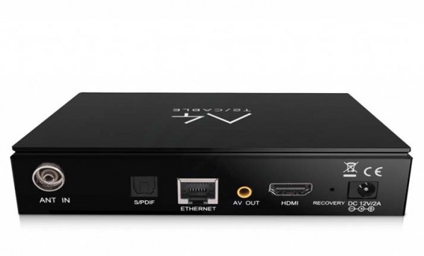 Amiko A4 UHD 4K Android Receiver mit 1x DVB-S2 Tuner