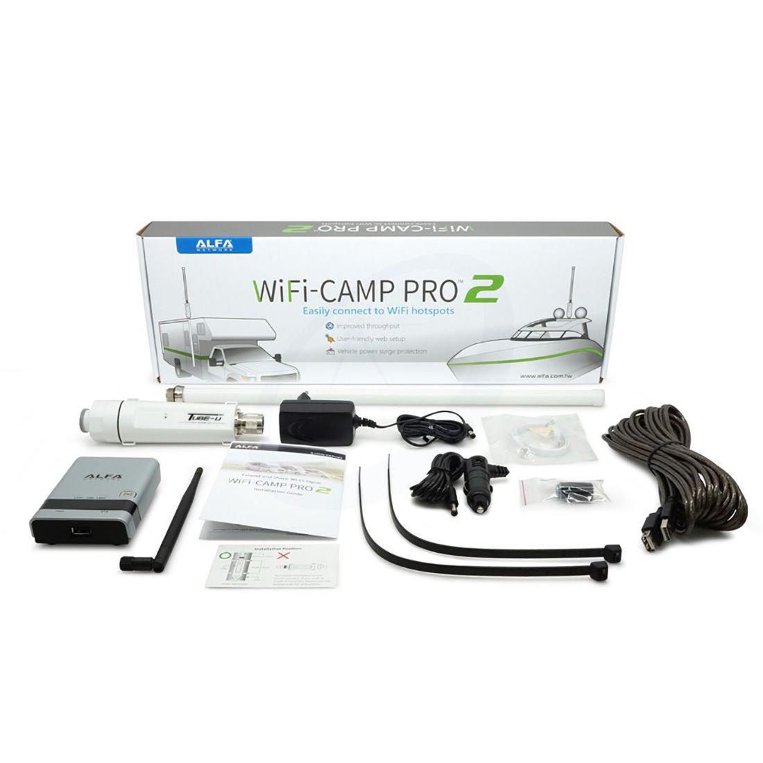 Alfa Network WiFi-Camp Pro2v2 Set